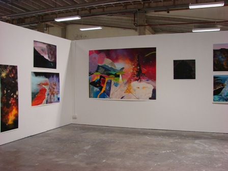 A. Sharman Anesthetic of reality, installation, November, 2011