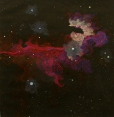 A. Sharman Horsehead space dragon study 3, August, 2011